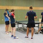 1. Tischtennis High-Performance Lehrgang in Nürnberg und Fürth